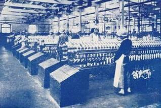 日本先后在青开设九大纱厂