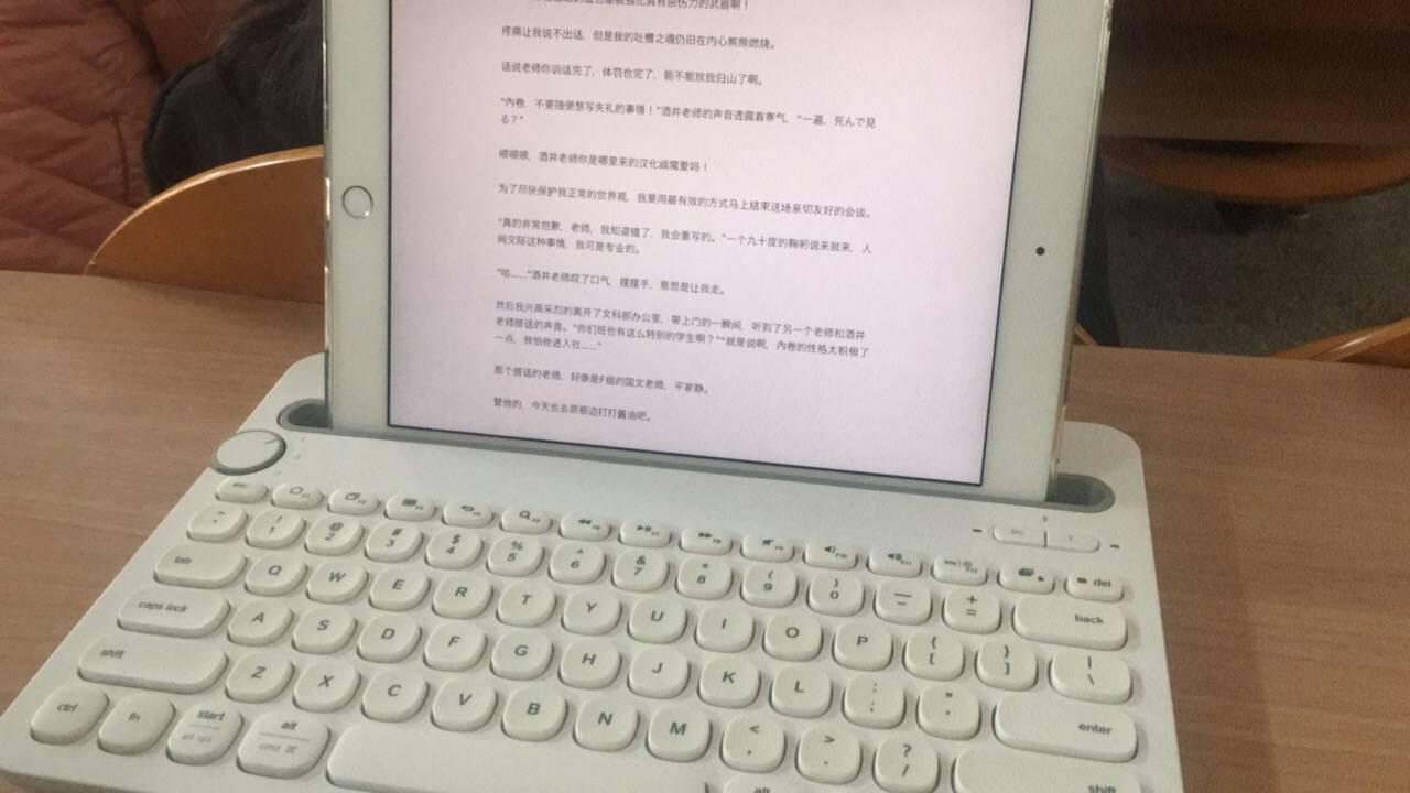 iPad Pro 9.7 + K480